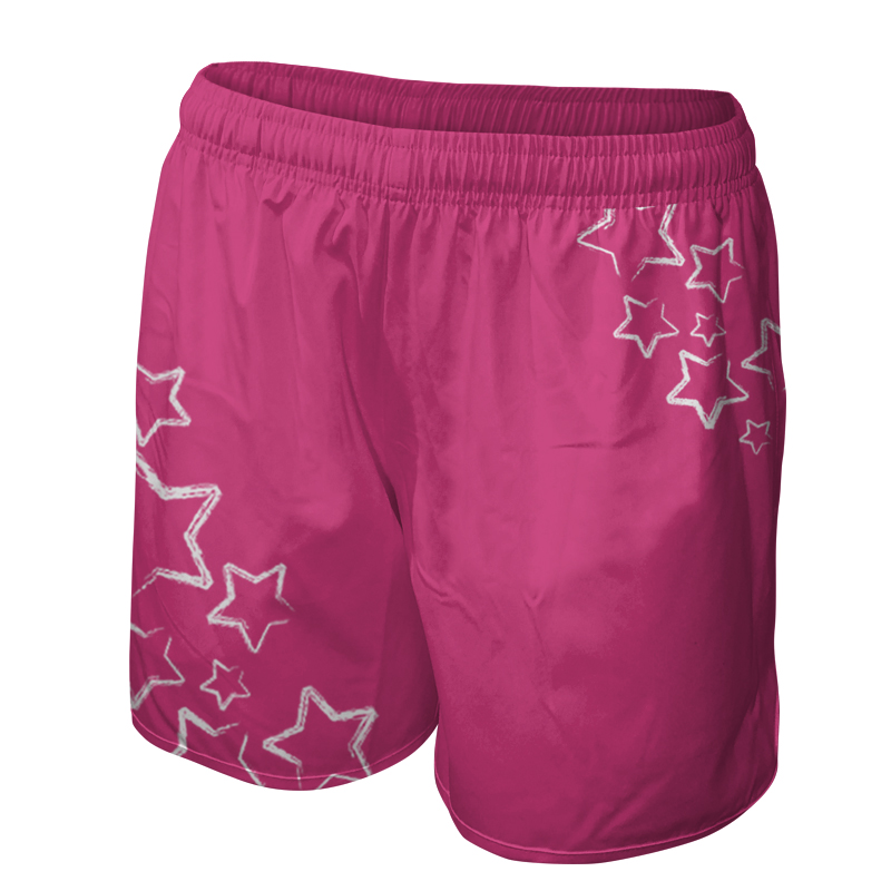 Ladies Custom Netball Training Shorts 016
