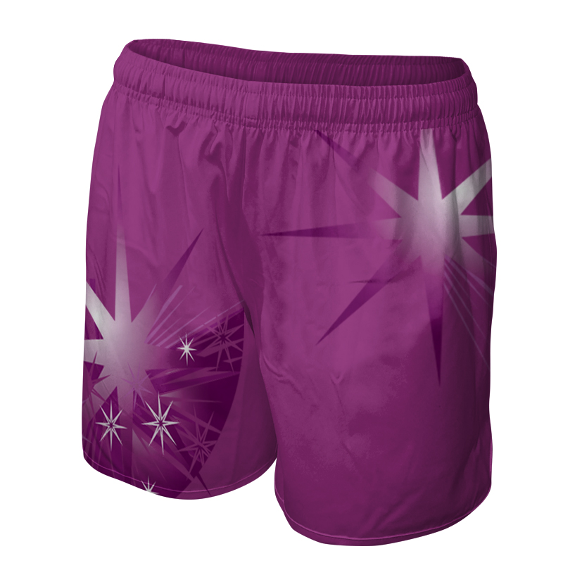 Ladies Custom Netball Training Shorts 020