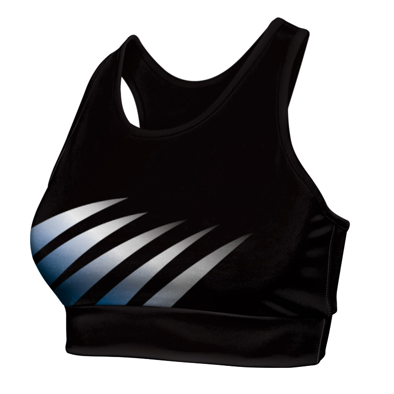 Ladies Custom Netball Racer Back Crop 013
