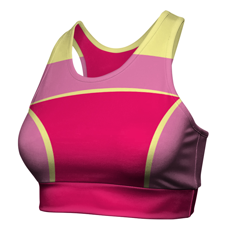 Ladies Custom Netball Racer Back Crop 021