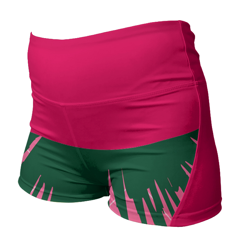 Ladies Custom Netball Comfort Waist Bummers 008