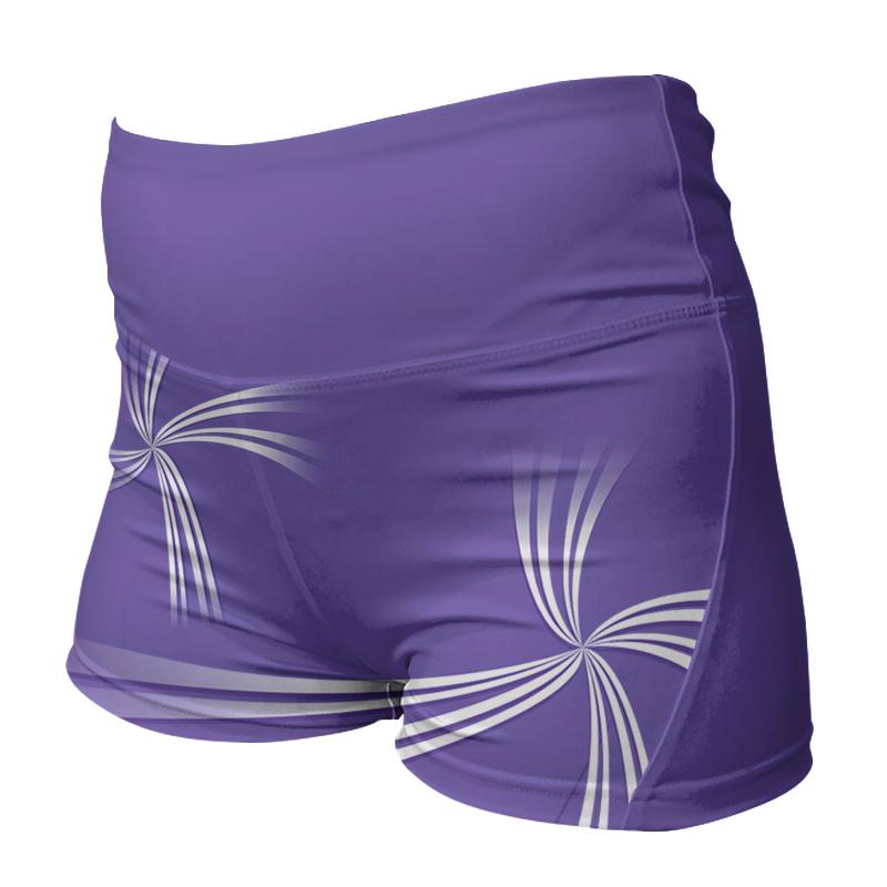Ladies Custom Netball Comfort Waist Bummers 009