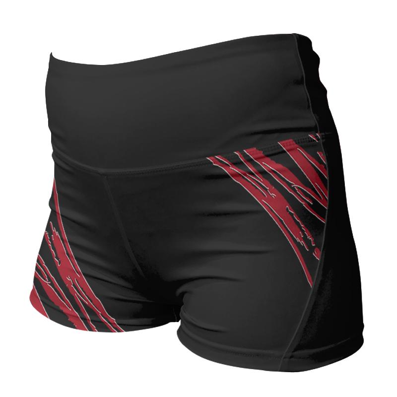 Ladies Custom Netball Comfort Waist Bummers 015