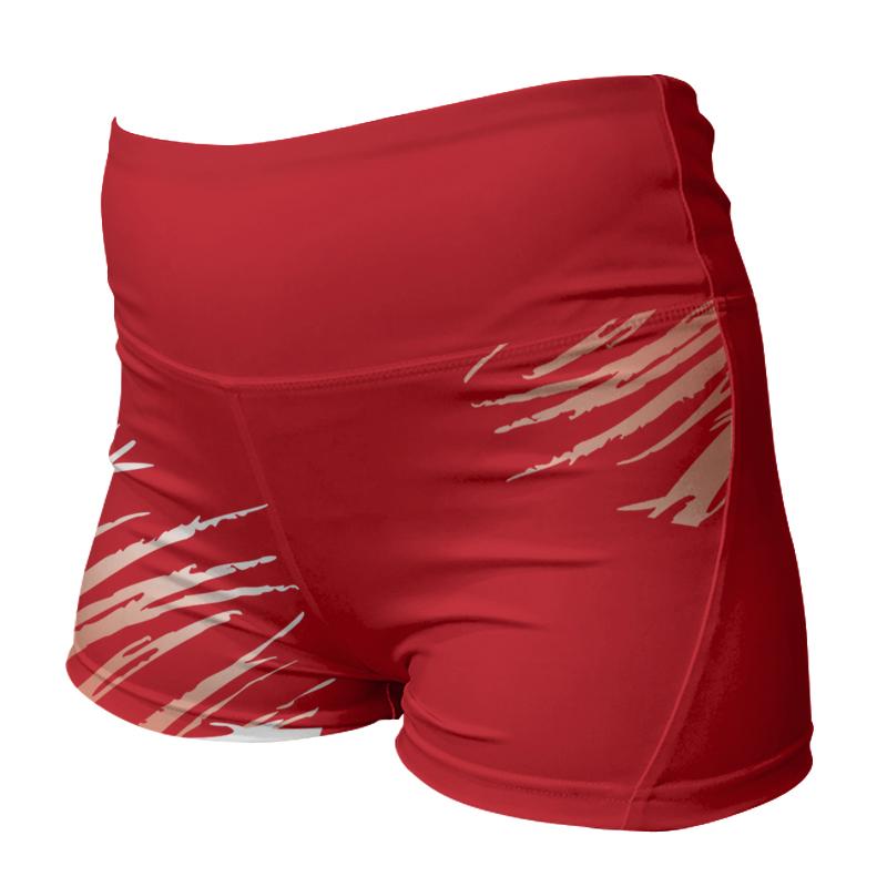 Ladies Custom Netball Comfort Waist Bummers 019