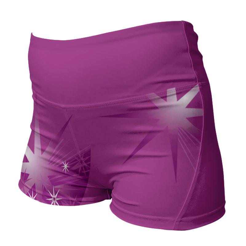 Ladies Custom Netball Comfort Waist Bummers 020