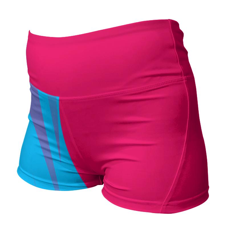 Ladies Custom Netball Comfort Waist Bummers 022