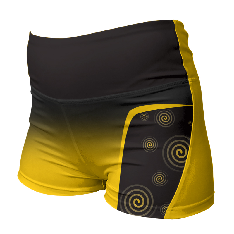 Ladies Custom Netball Comfort Waist Bummers 024