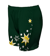Ladies Custom Netball Boy Leg Tights