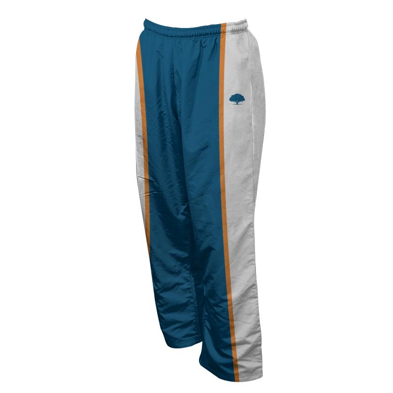 Unisex Custom Athletics Microfiber Track Pants with Zips 010