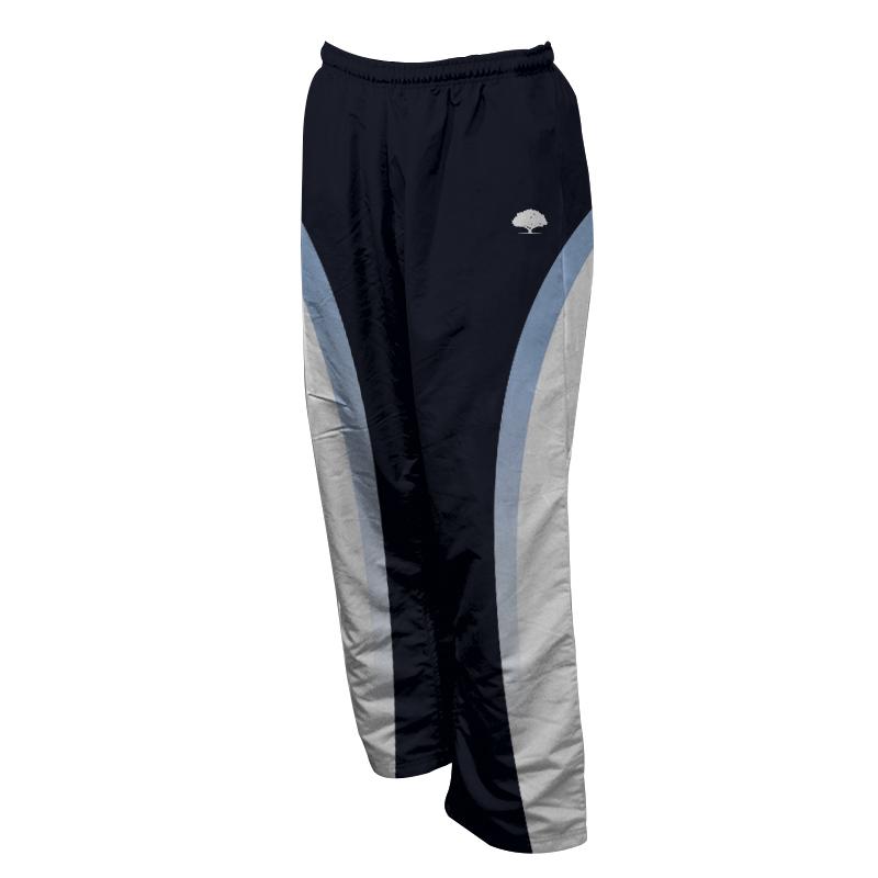 Unisex Custom Athletics Microfiber Track Pants with Zips 014