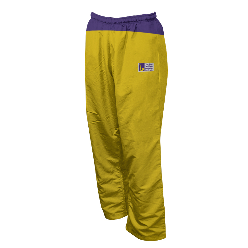 Unisex Custom Athletics Microfiber Track Pants with Zips 018