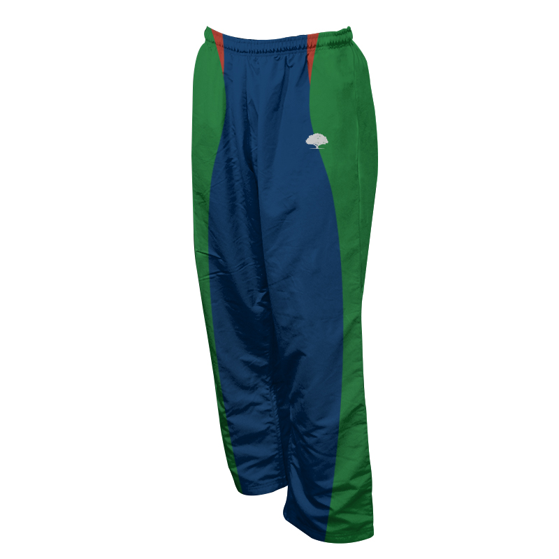 Unisex Custom Athletics Microfiber Track Pants with Zips 022