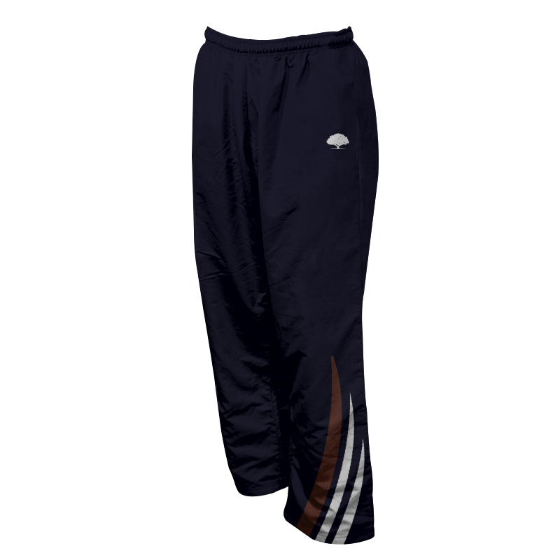 Unisex Custom Athletics Microfiber Track Pants with Zips 023