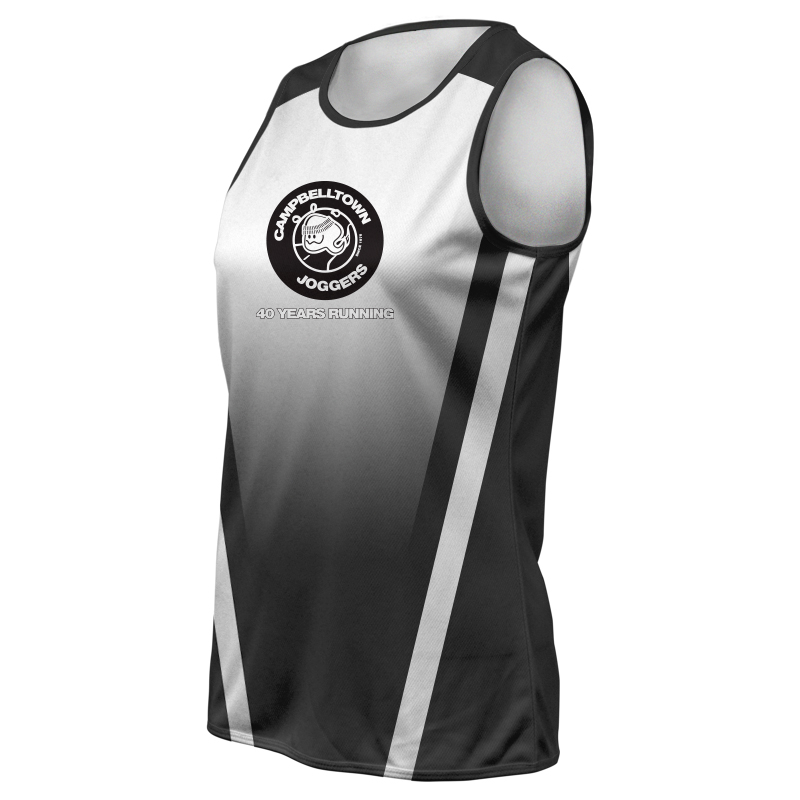 Ladies Custom Athletics Round Neck Singlet 004