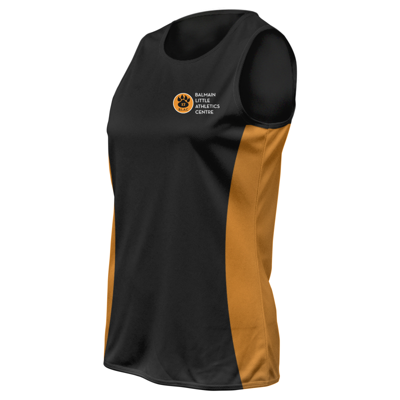 Ladies Custom Athletics Round Neck Singlet 005