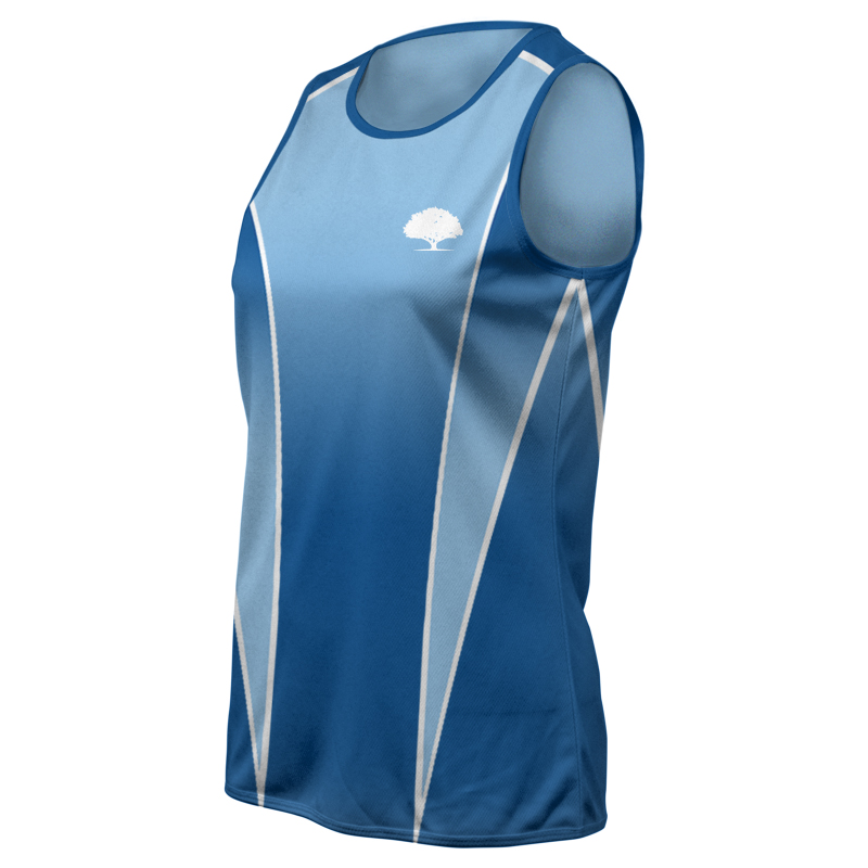 Ladies Custom Athletics Round Neck Singlet 006