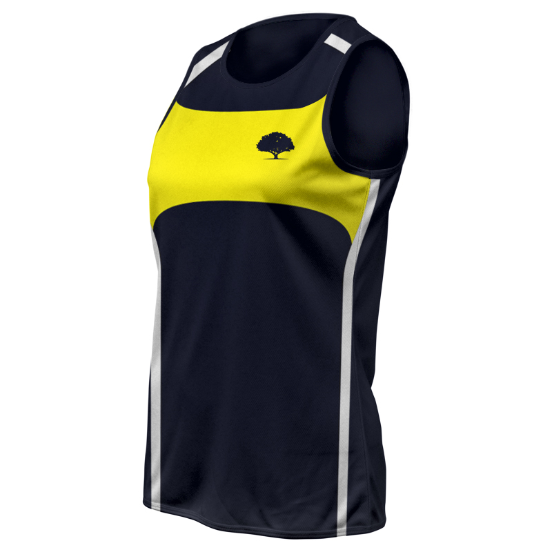 Ladies Custom Athletics Round Neck Singlet 007