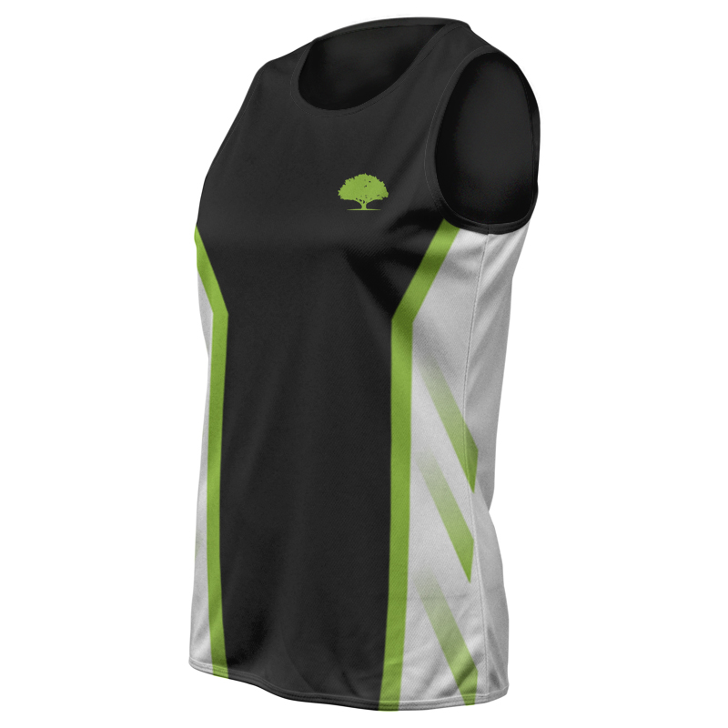 Ladies Custom Athletics Round Neck Singlet 009