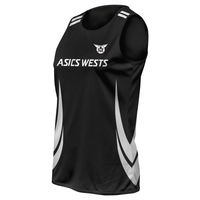 Ladies Custom Athletics Round Neck Singlet 016