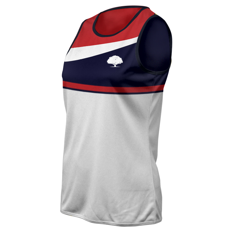Ladies Custom Athletics Round Neck Singlet 020