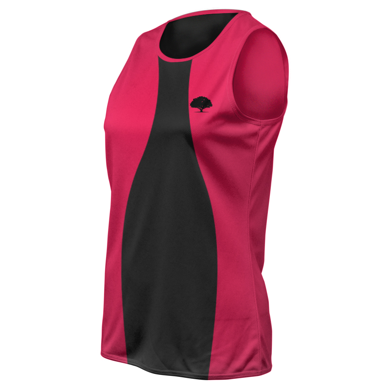Ladies Custom Athletics Round Neck Singlet 021