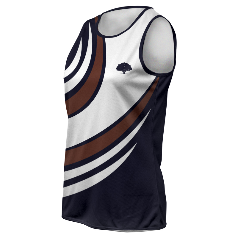 Ladies Custom Athletics Round Neck Singlet 023