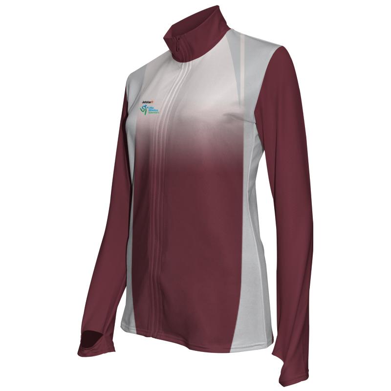 Ladies Custom Athletics Activewear Jacket 001