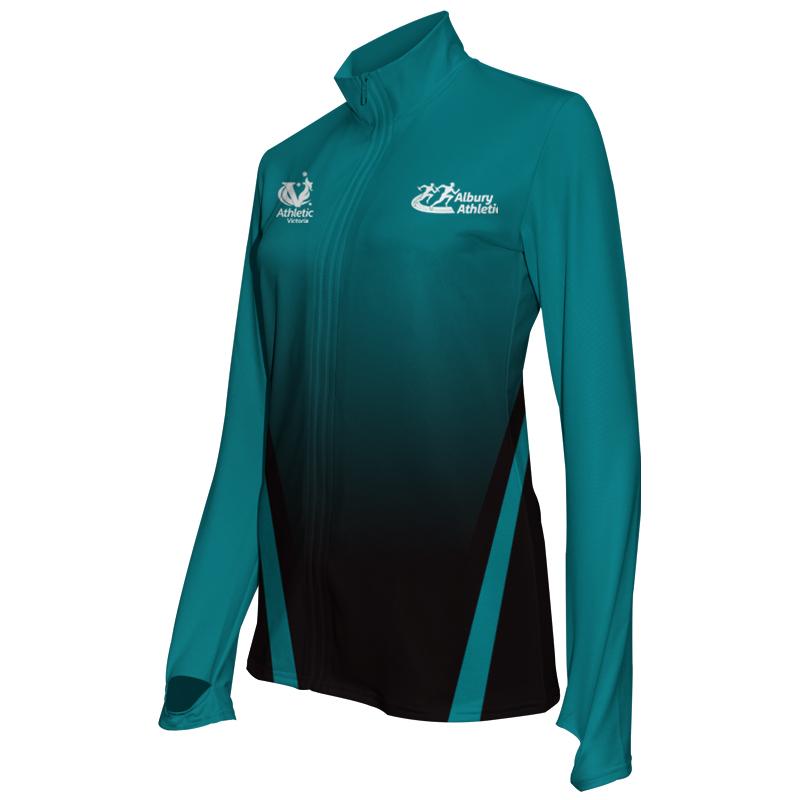 Ladies Custom Athletics Activewear Jacket