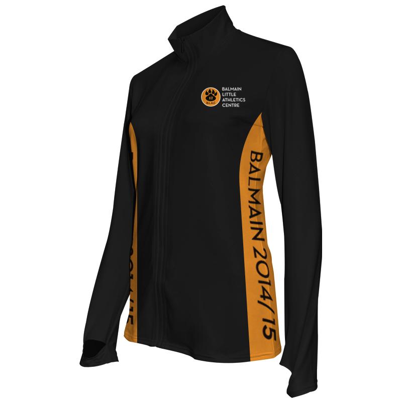 Ladies Custom Athletics Activewear Jacket 005