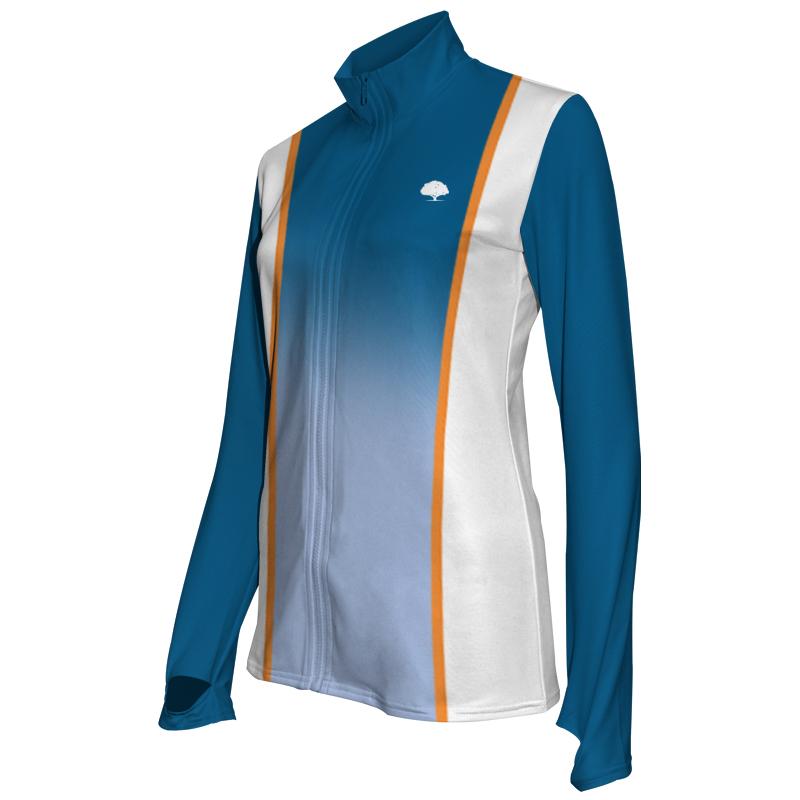 Ladies Custom Athletics Activewear Jacket 010
