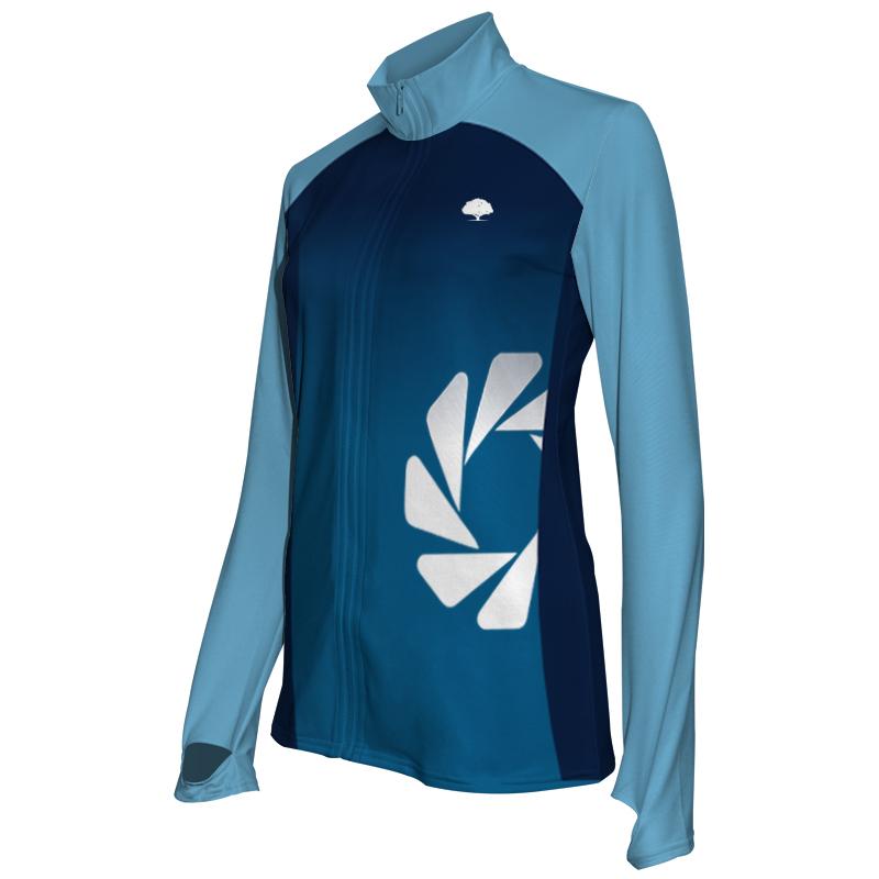 Ladies Custom Athletics Activewear Jacket 011
