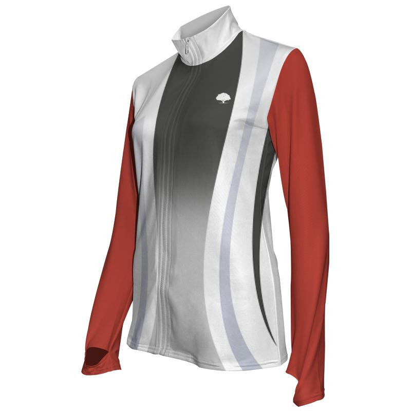 Ladies Custom Athletics Activewear Jacket 013