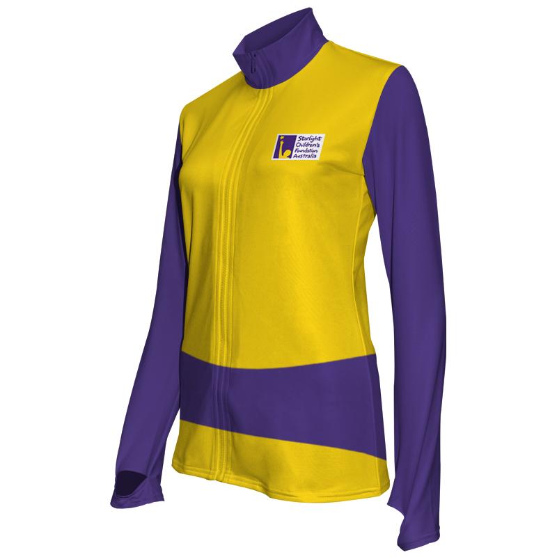 Ladies Custom Athletics Activewear Jacket 018