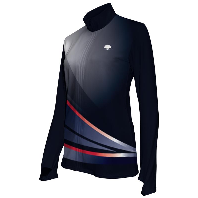 Ladies Custom Athletics Activewear Jacket 019