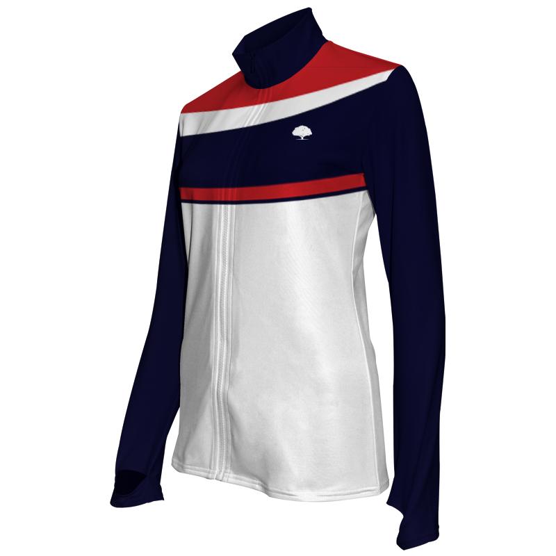 Ladies Custom Athletics Activewear Jacket 020