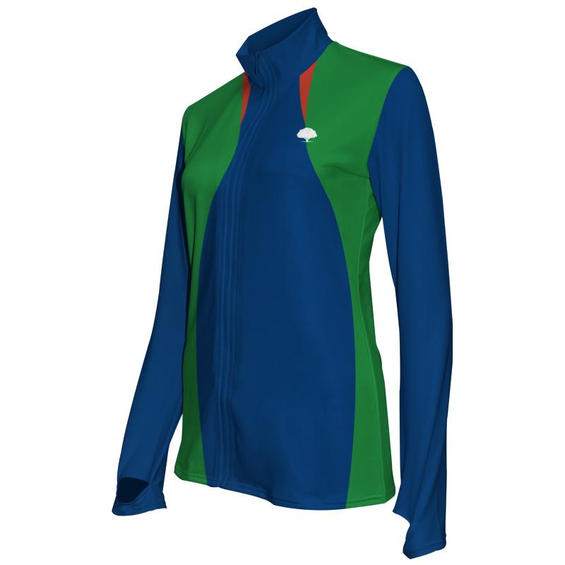 Ladies Custom Athletics Activewear Jacket 022