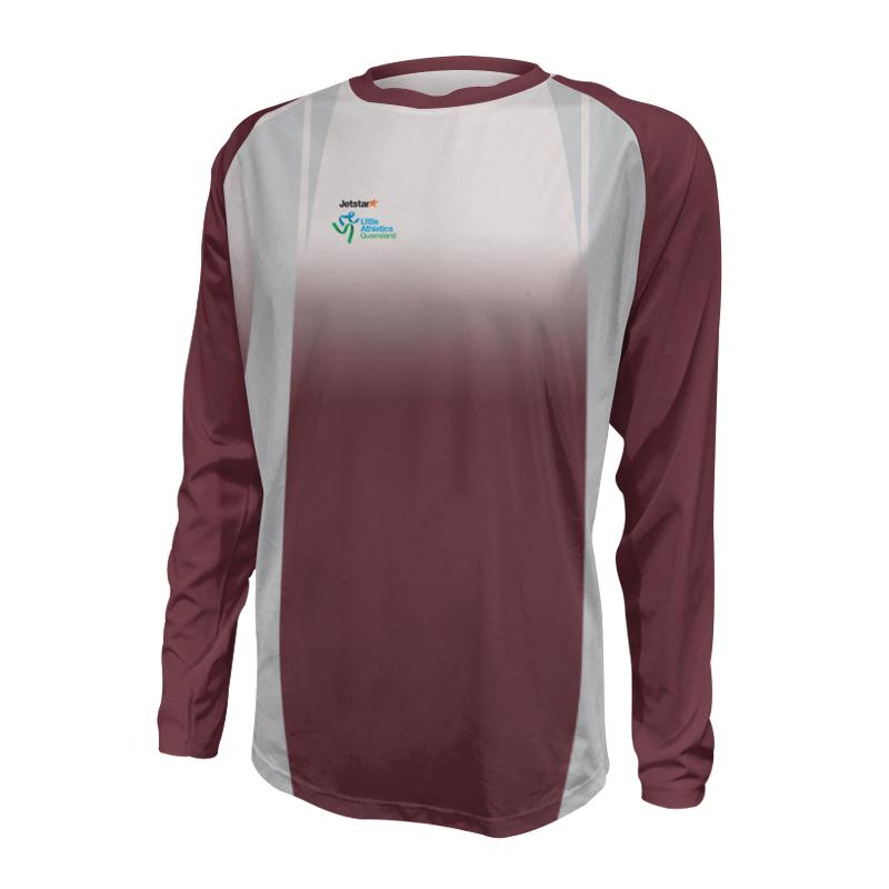 Unisex Custom Athletics Long Sleeve Tee 001