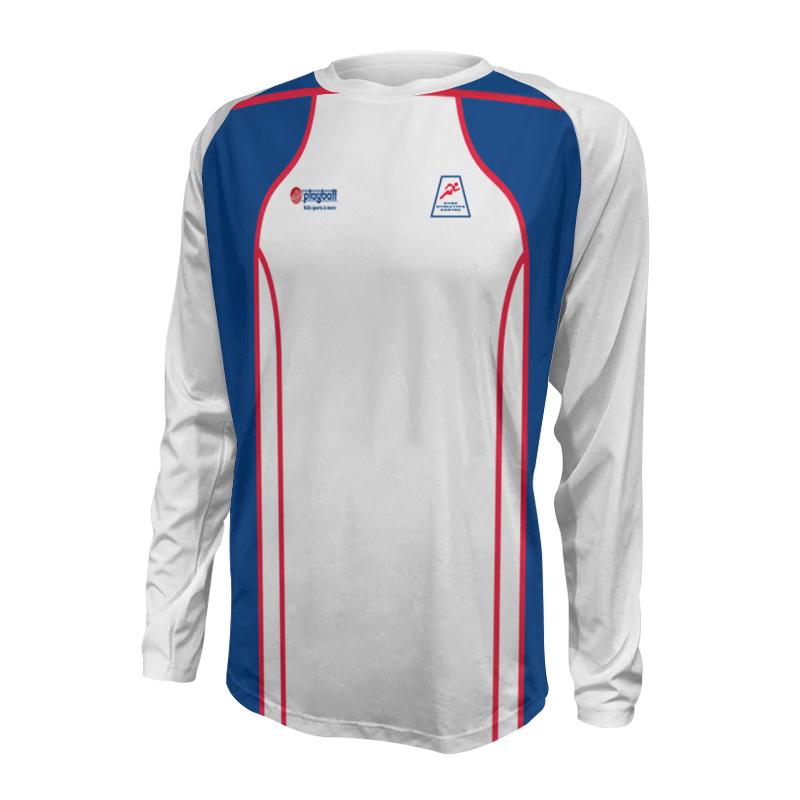 Unisex Custom Athletics Long Sleeve Tee 002