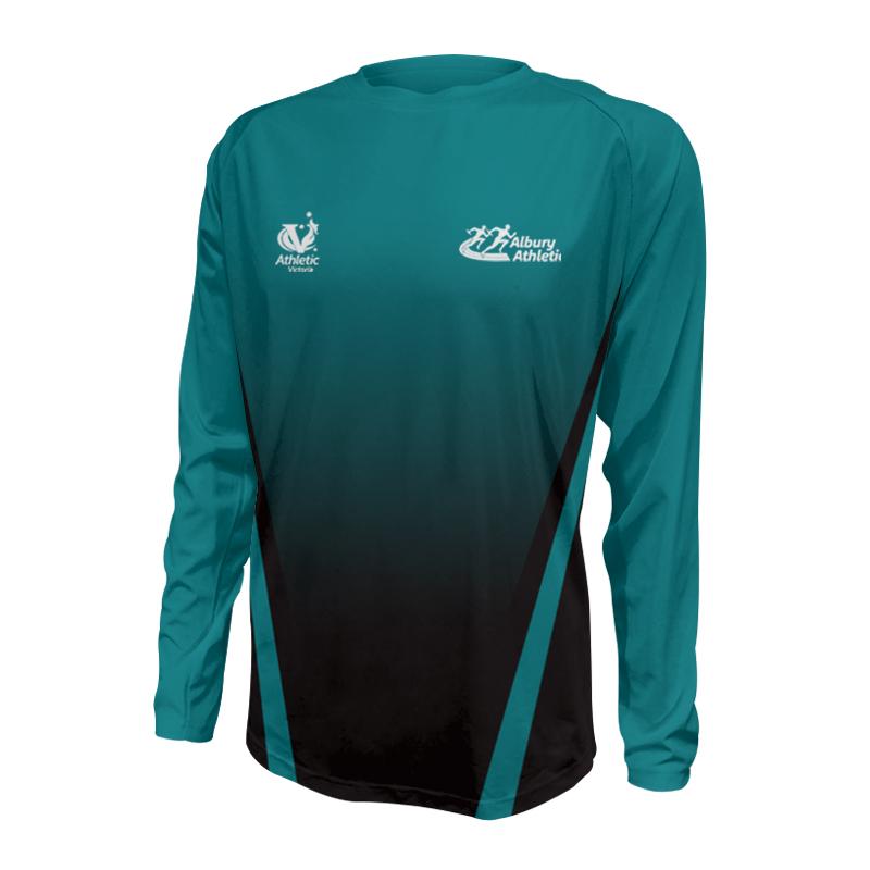 Unisex Custom Athletics Long Sleeve Tee 003