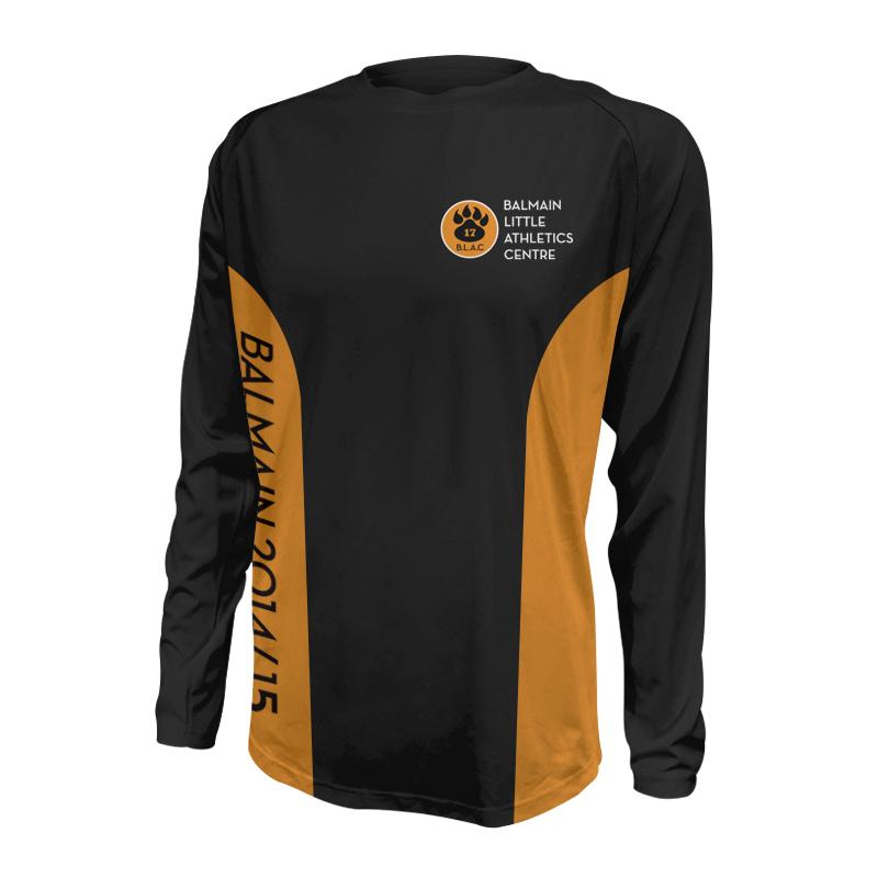 Unisex Custom Athletics Long Sleeve Tee 005