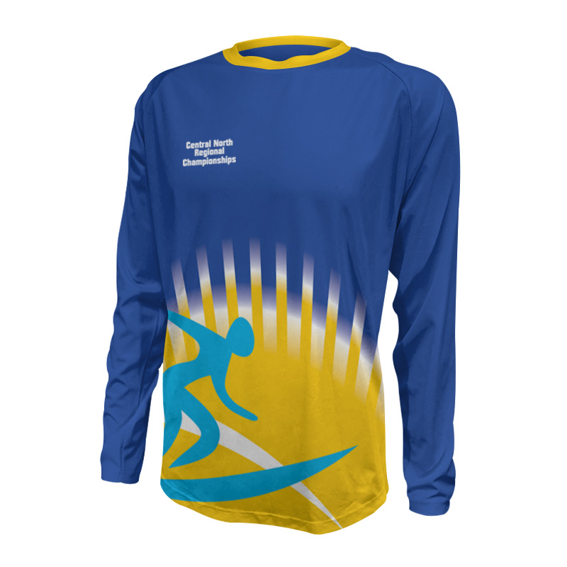 Unisex Custom Athletics Long Sleeve Tee 017