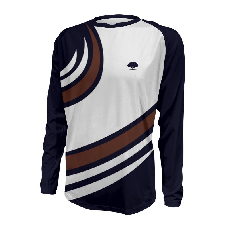 Unisex Custom Athletics Long Sleeve Tee 023