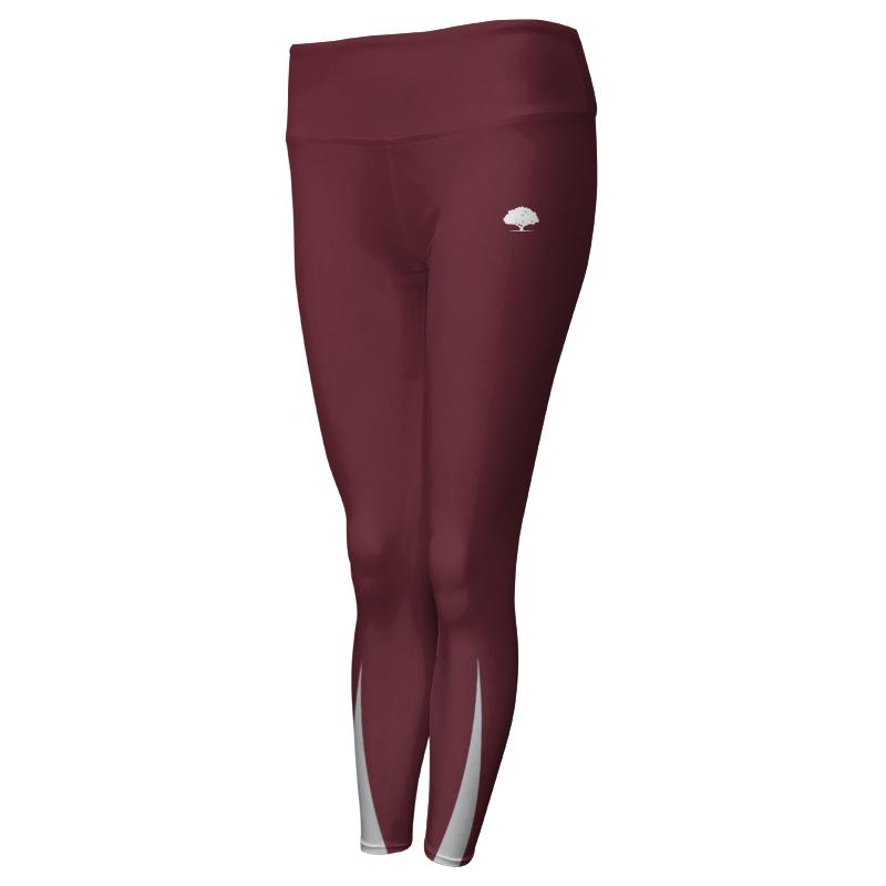 Ladies Custom Athletics Comfort Waist Full Length Tights 001