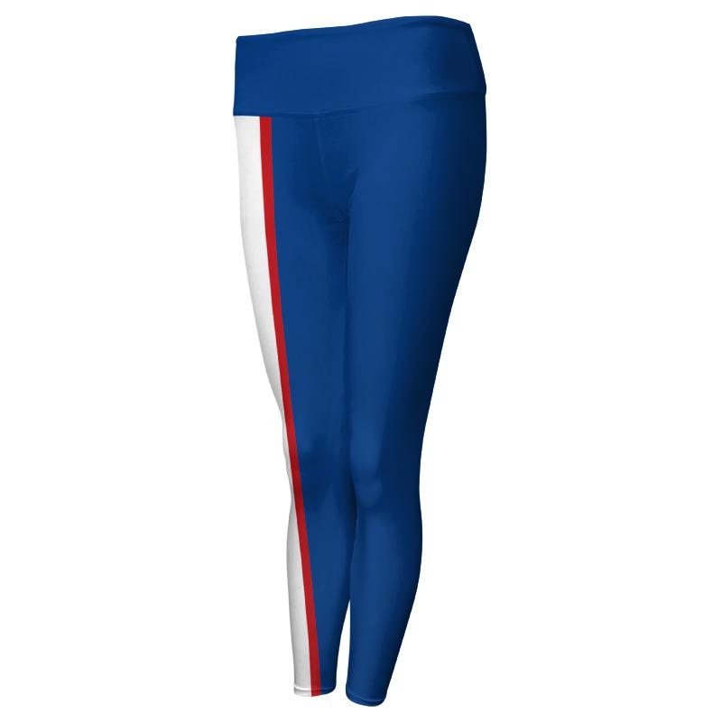 Ladies Custom Athletics Comfort Waist Full Length Tights 002