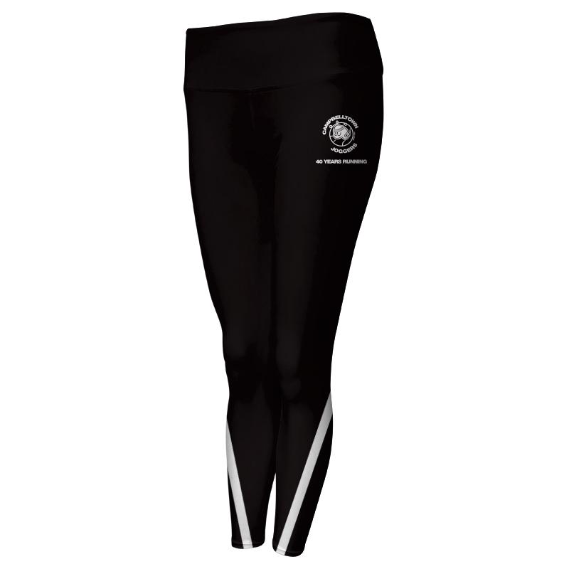 Ladies Custom Athletics Comfort Waist Full Length Tights 004