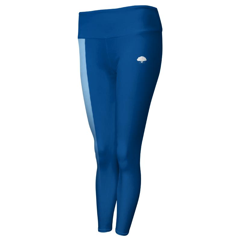 Ladies Custom Athletics Comfort Waist Full Length Tights 006