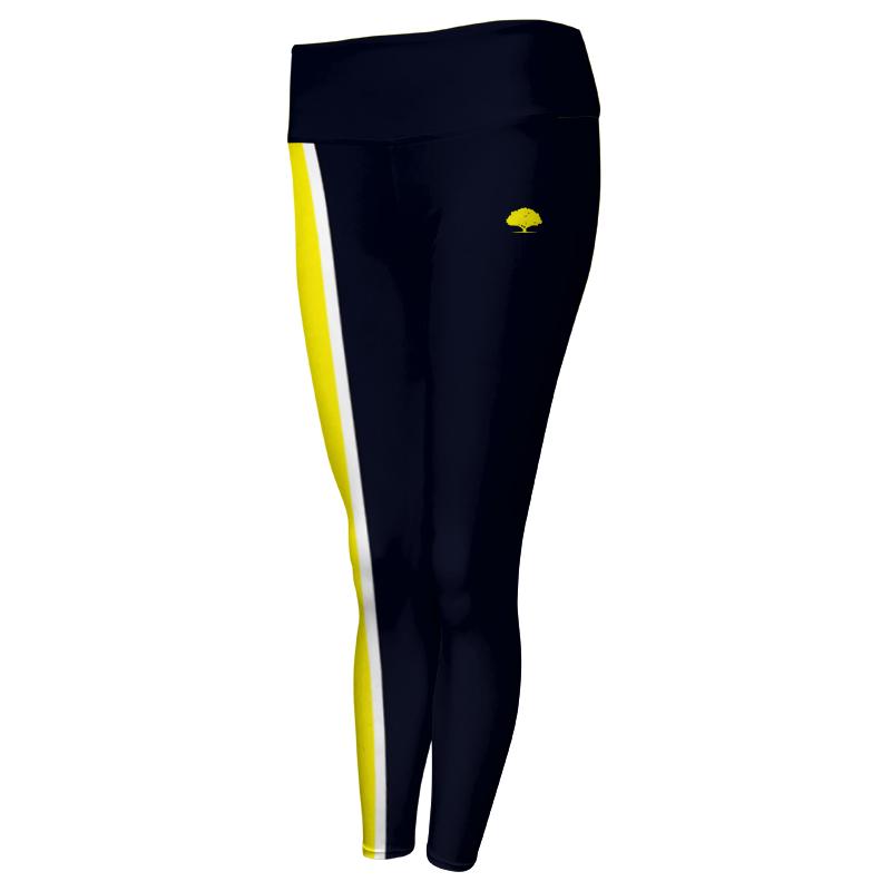 Ladies Custom Athletics Comfort Waist Full Length Tights 007