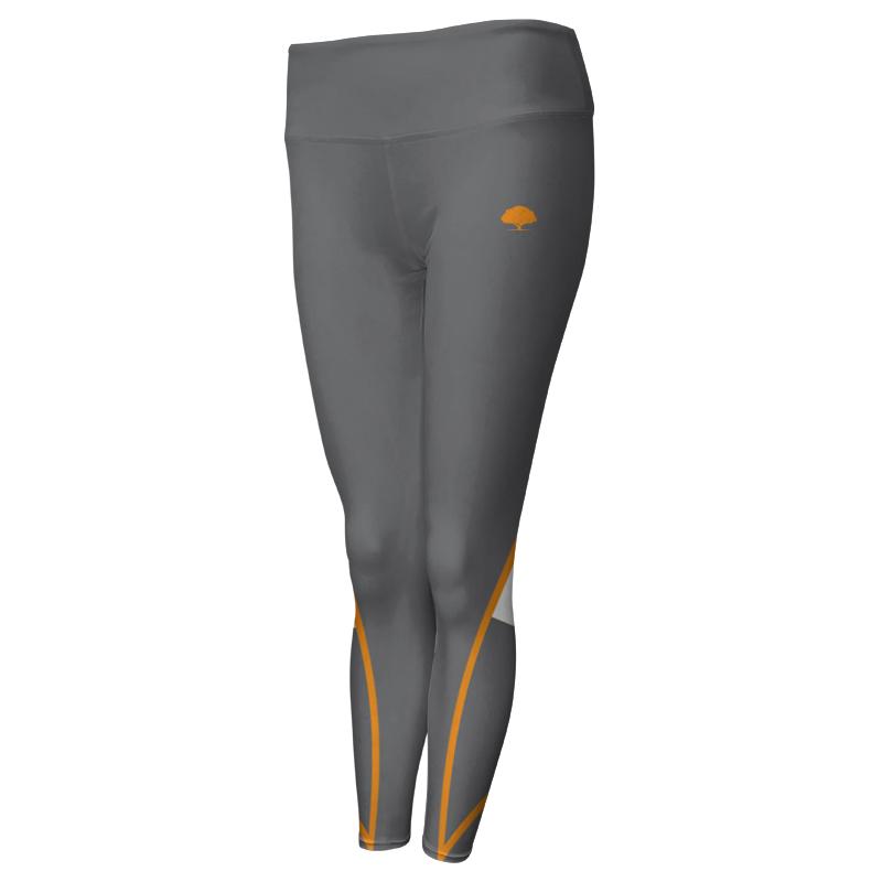 Ladies Custom Athletics Comfort Waist Full Length Tights 008