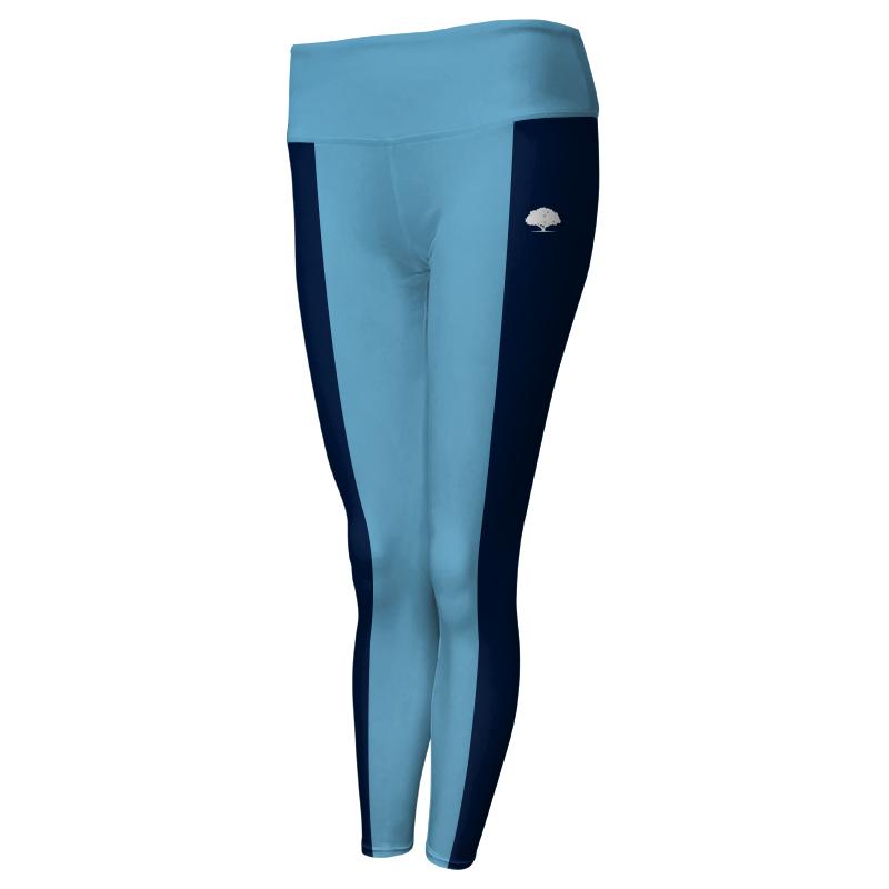 Ladies Custom Athletics Comfort Waist Full Length Tights 011