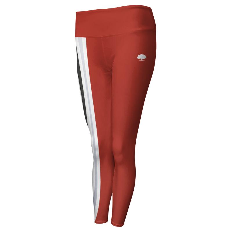 Ladies Custom Athletics Comfort Waist Full Length Tights 013